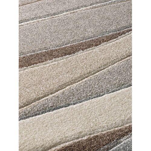 heine home Teppich in Wellen-Dessin mit Reliefstruktur