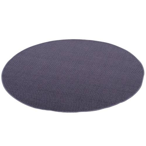 Snapstyle Sisalteppich »Sisal Natur Teppich Rund«, , Rund, Höhe 6 mm, Blau
