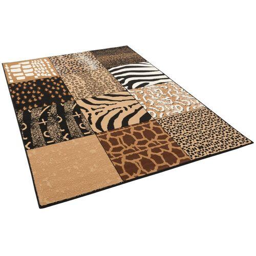 Pergamon Designteppich »Trendline Teppich Afrika Patchwork«, , Rechteckig, Höhe 8 mm