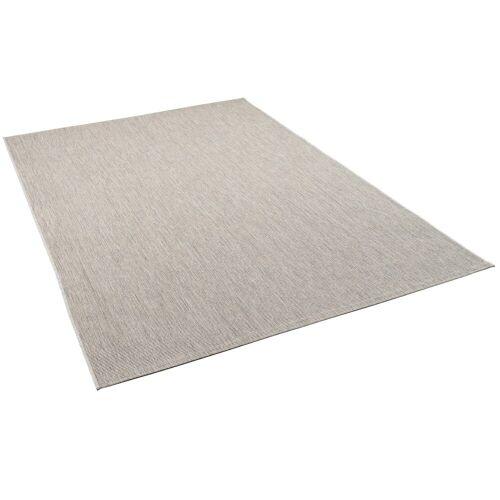 Pergamon Outdoorteppich »In- und Outdoor Teppich Carpetto Mix«, , Höhe 6 mm, Grau
