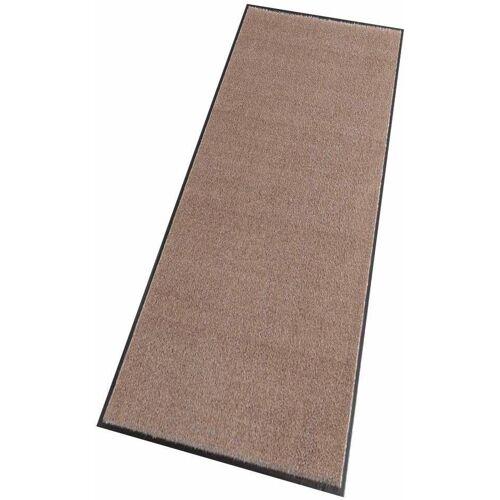 HANSE Home Läufer »Deko Soft«, , rechteckig, Höhe 7 mm, Schmutzfangläufer, Schmutzfangteppich, Schmutzmatte, waschbar, taupe