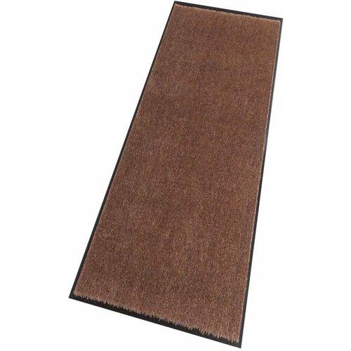 HANSE Home Läufer »Deko Soft«, , rechteckig, Höhe 7 mm, Schmutzfangläufer, Schmutzfangteppich, Schmutzmatte, waschbar, braun