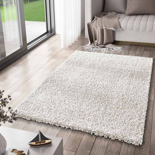 Vimoda Teppich »Ein moderner Hochflor Shaggy Teppich mit einer pflegeleichten Florhöhe und einem niedrigen Gewicht«,