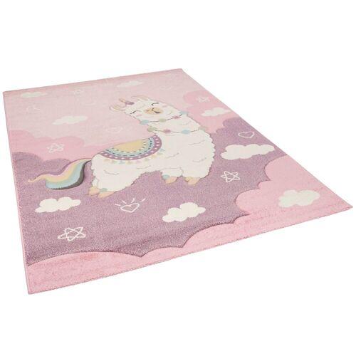 Pergamon Kinderteppich »Kinder Teppich Maui Kids Alpaka Pastell«, , Rechteckig, Höhe 13 mm