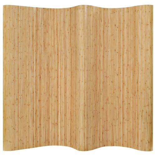 vidaXL Raumteiler »Raumteiler Bambus 250x165 cm Natur«