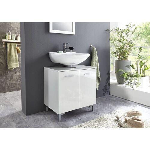 BMG Möbel Waschbeckenunterschrank »Marbella« Höhenverstellbarer Einlegeboden