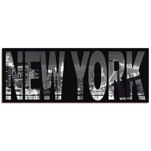 Artland Schlüsselbrett »New York«, aus Holz mit 4 Schlüsselhaken – Schlüsselboard, Schlüsselbretter, Schlüsselhalter, Schlüsselaufhänger für den Flur – Stil: Modern
