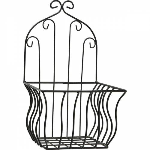 "BOLTZE Regal »2-tlg. Blumentopfhalter Set ""Korb"" B16/20xH32/35cm«"