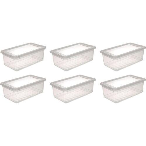 keeeper Stapelbox »bea« (Set, 6 Stück), mit Belüftungsfunktion