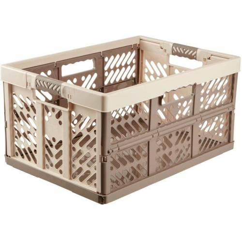 keeeper Klappbox »ben«, 45 l, Made in Europa, taupe