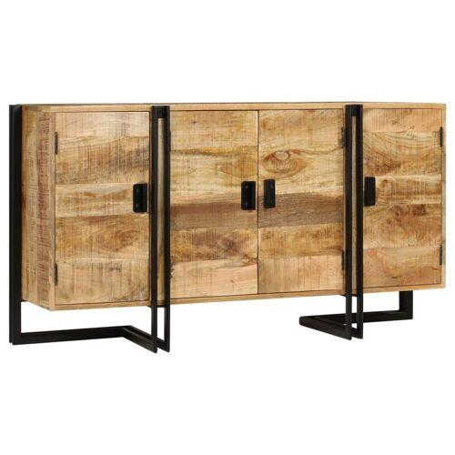 vidaXL Sideboard »Sideboard Mangoholz Massiv 150 x 40 x 80 cm«
