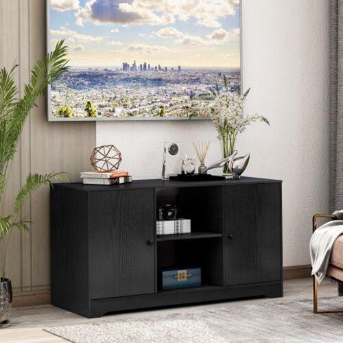 TOPMELON TV-Bank »TV-Ständer aus Holz Medienständer für Fernseher«, 108 x 39 x 57cm