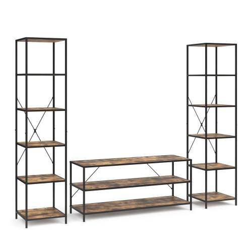 Vicco Standregal »Loft Set Fyrk Bücherregal Fernsehtisch Sideboard Wandregal Holz Regal«