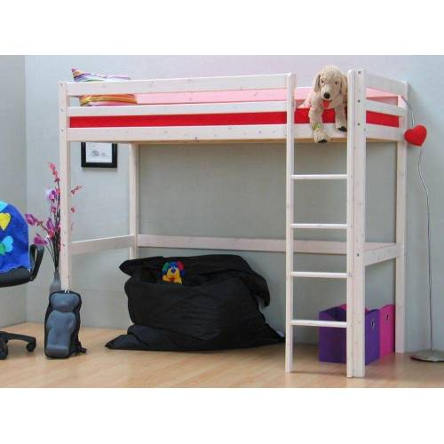ebuy24 Kinderbett »Thuka Kids Hochbett weiß 90x200 cm«