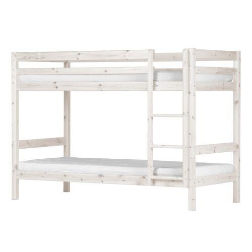 ebuy24 Kinderbett »Flexa Basic Hit Kinderbett kojenbett 90x200, weiss«