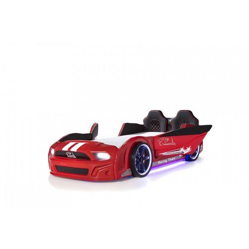 Trebela Autobett »Autobett 500 mit Türen«, Rot