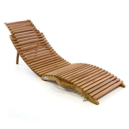 VCM Gartenliege »Sonnenliege Holz Sonnenliege Holz«