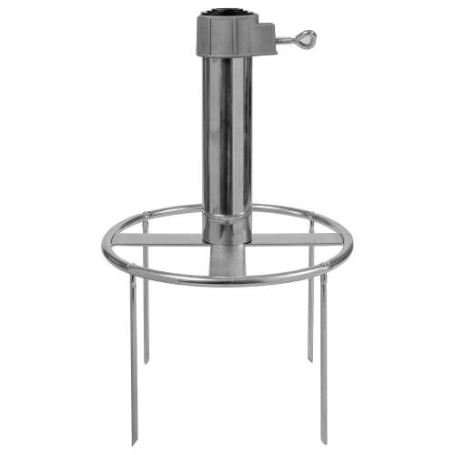 Delschen Bodenhülse »Erdspieß Sonnenschirm 4 Adapter-Ringe, Stamm 26-55 mm«