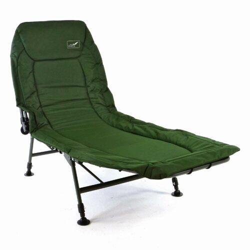 VCM Gartenliege »Karpfenliege / Campingliege mit Schlammfüßen«