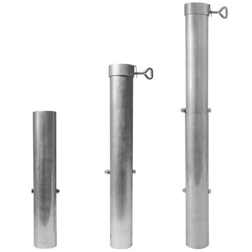 Delschen Bodenhülse »Bodenhülse Sonnenschirm bis 60 mm und bis 5 m Durchmesser«