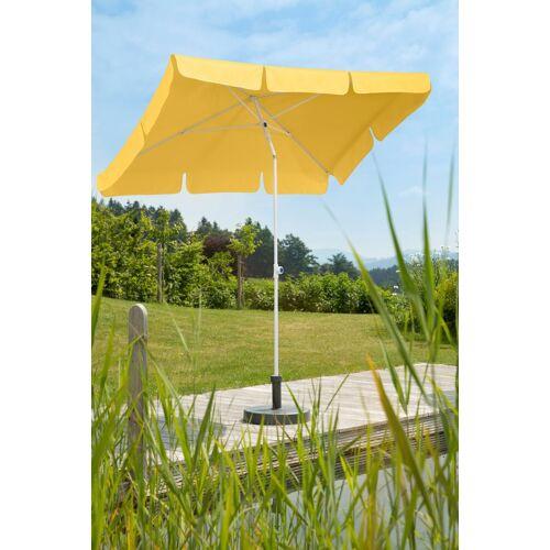 Schneider Schirme Sonnenschirm »Ibiza«, LxB: 180x120 cm, ohne Schirmständer, gelb