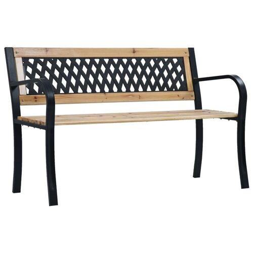 vidaXL Gartenbank »Gartenbank 120 cm Holz«