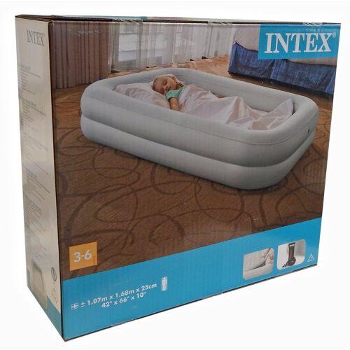 Intex Luftbett, Kinder Reisebett Kinderbett Luft Matratze + Pumpe Gästebett