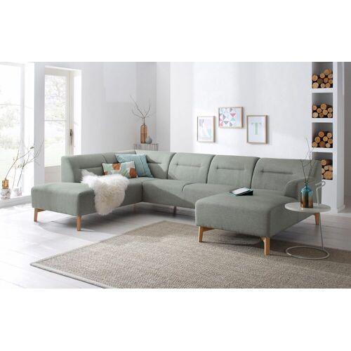 andas Wohnlandschaft »Kiruna«, bequemer Sitzkomfort, light grey