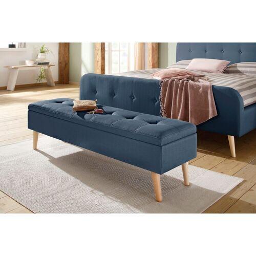Home affaire Bank »Zena«, in fünf verschiedenen Farben, in drei verschiedenen Größen, blau