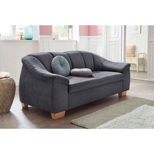 sit&more 2,5-Sitzer, mit Federkern, grau