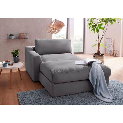 sit&more Recamiere, steel
