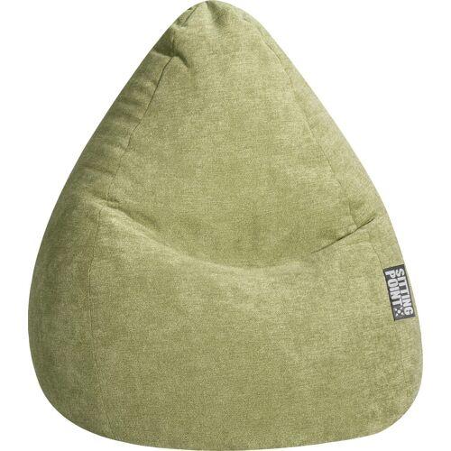 Sitting Point Sitzsack »Sitzsack ALFA XXL«, grün