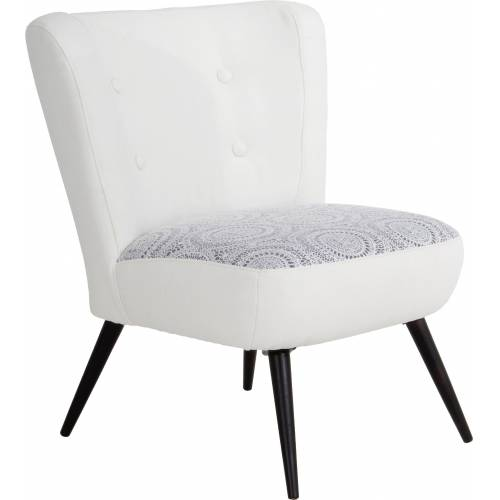 Max Winzer® Sessel »Nikki«, im Retrolook, mit zierlichem Häkelmuster