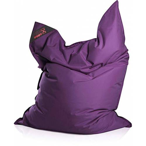 Magma Heimtex Sitzsack »Big Foot«, für Indoor und Outdoor, violett