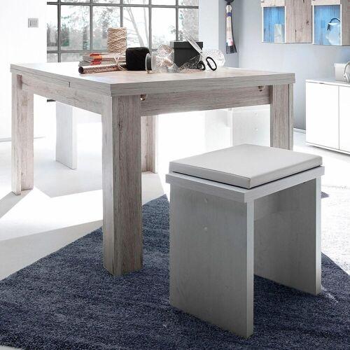 Esstisch, ausziehbar, Breite 160-260 cm, Sandeiche