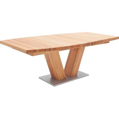 MCA furniture Esstisch »Managua B«, Esstisch Massivholz ausziehbar, Kernbuche   Kernbuche   Kernbuche