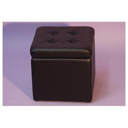 Sitzwürfel, schwarz