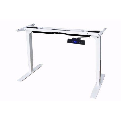 Yulukia Tischgestell »Elektrisch Höhenverstellbares Tischgestell«, Höhenverstellbar, Breitenverstellbar, Weiß