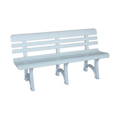 Bica Gartenbank »Olimpia Gartenbank« (1-St), 1x Gartenbank, weiß   weiß   weiß