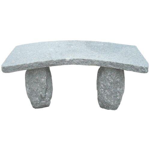 Dehner Gartenbank »2-Sitzer, 100 x 40 x 45 cm, Granit, grau«