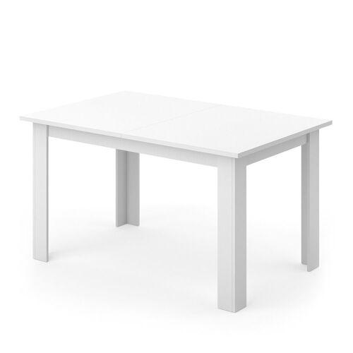Vicco Esstisch »Karlos Esszimmertisch Wohnzimmer Küchentisch 140cm Weiß«