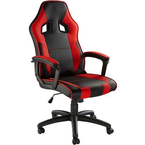 tectake Gaming-Stuhl »Gamingstuhl Senpai«, schwarz/rot