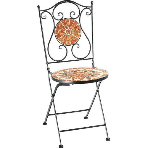 locker Klappstuhl »Metallklappstuhl, Mosaik, nicht frostsicher«