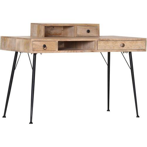 Gutmann Factory Schreibtisch »Joyce«, mit Massivholzplatte Mango