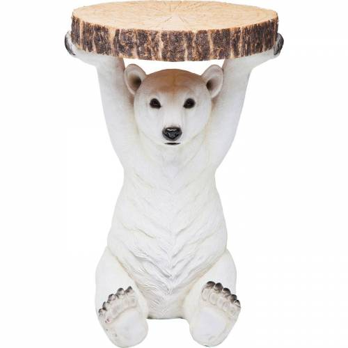 KARE Beistelltisch »Beistelltisch Animal Polar Bear«