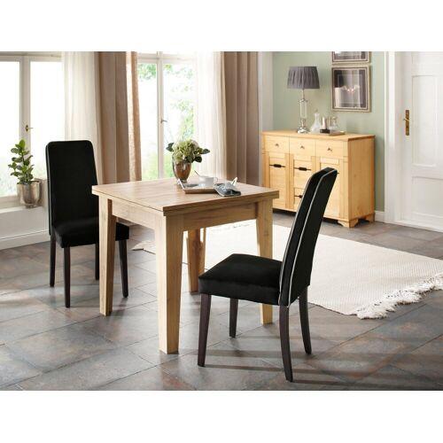 Home affaire Esstisch »Alor«, ausklappbar von 80 auf 160 cm