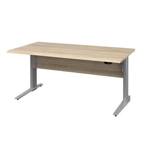 ebuy24 Schreibtisch »Prisme Schreibtisch B elektronisch heben/senken Ei«