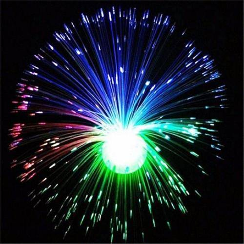 Gotui LED-Lichterkette »Glasfaserlampe«, Farbwechsel