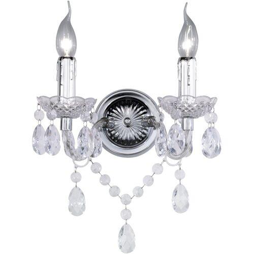 TRIO Leuchten Wandleuchte »LÜSTER«, kristallweiß