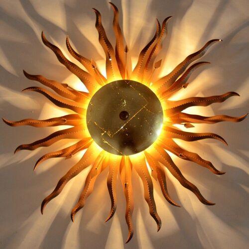 s.LUCE Deckenleuchte »Diator XL handgeschmiedete Sonne«